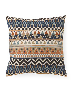 Made In USA 22x22 Contemporary Pattern Pillow