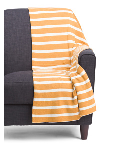 Made In India Trinity Stripe Throw
