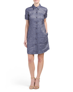 Mayvine Linen Blend Dress