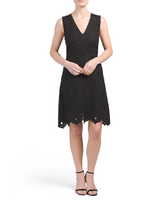 Jemion E Embroidered Dress