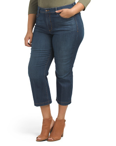 Plus Made In Usa Sophia Flare Ankle Jeans