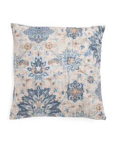 20x20 Floral Pattern Pillow