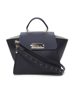Leather Eartha Iconic Top Handle Satchel
