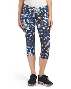 Abstract Print Capris
