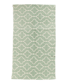 Made In India 2x4 Medallion Scatter Rug