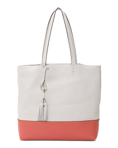Drifter Unlined Leather Tote