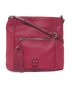 Urban Cut Out Leather Crossbody