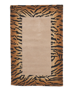 Made In India Wool Area Rug