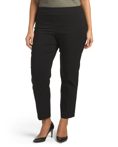 Plus Tummy Control Stretch Pants