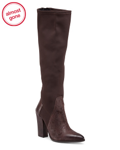 Made In Italy Knee High Boots