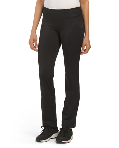 Boot Cut Inner Fleece Pants