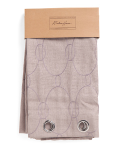 54x96 Lined Faux Linen Set Of 2 Curtains