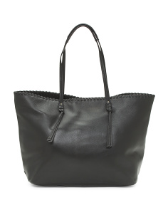 Rumey Convertible Leather Tote