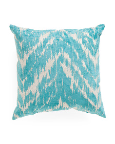Made In USA 20x20 Chevron Chenille Pillow