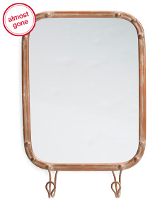 Metal Trim Mirror