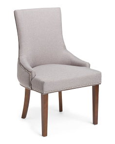 Sonya Accent Chair With Nailheads