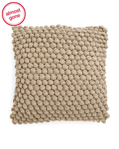 Made In India 20x20 Knitted Pillow