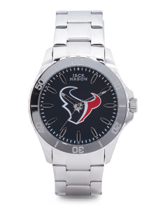 Men's Sport Houston Texans Bracelet Watch