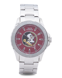Men's Sport Florida State Seminoles Bracelet Watch
