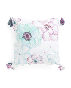 Kids Made In India 20x20 Floral Medley Pillow