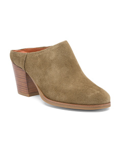 Made In Spain Suede Mules