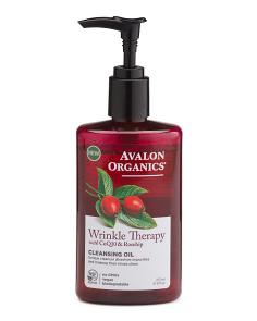 8oz Wrinkle Therapy Cleansing Oil