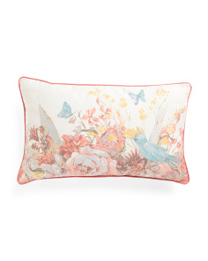 14x24 Floral Printed Pillow
