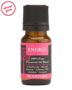 10ml Energy Essential Oil Blend