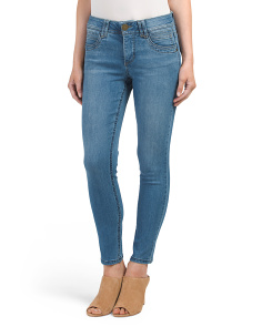 Ab Tech Booty Lift Ankle Jeans