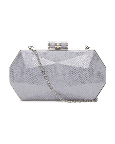 Kayla Faceted Minaudiere