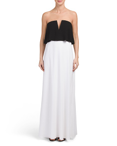 Alyse Strapless Dress