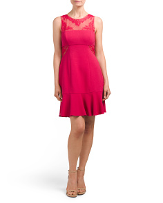 Enida Embroidered Dress