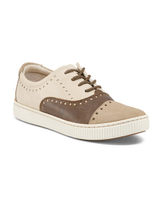 Cymbal Leather Sneakers