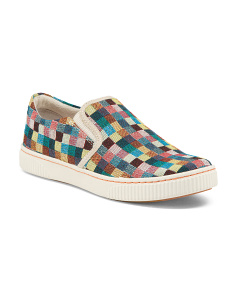 Richie Quilted Slip On Sneakers
