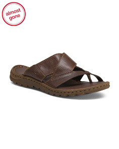 Leather Thong Toe Sandals