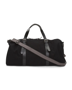 Canvas Leather Duffel