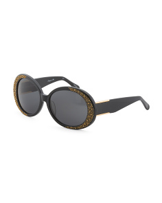 Shiny Oversized Pamper Me Sunglasses