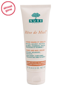 Made In France 2.5oz Reve De Miel Hand And Nail Cream
