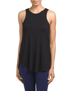 High Neck Muscle Tank
