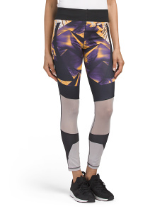 Colorblock Print Wow Tights