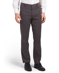 Signature Stretch Slim Flat Front Pants