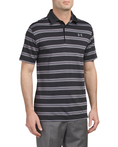 Groove Stripe Loose Fit Polo