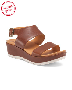 Khloe Platform Leather Sandals