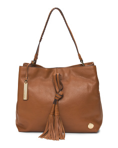 Taro Leather Hobo