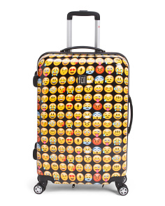 25in Emoji Hardcase Spinner