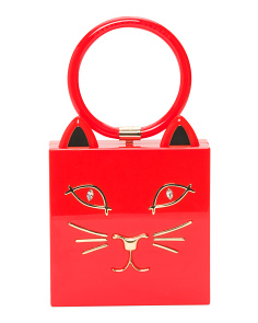 Made In Italy Kitty Clutch