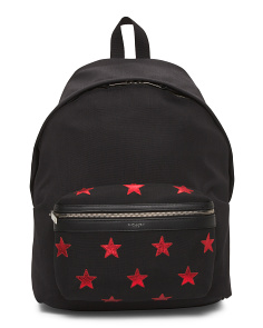 Made In Italy Canvas Backpack