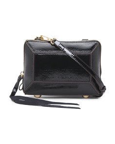 Patent Leather Tara Mini Crossbody