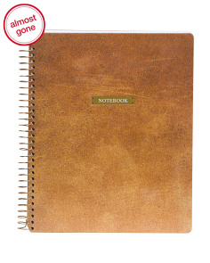 Natural Spiral Notebook