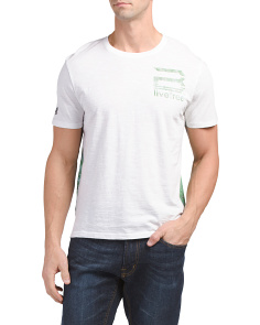 Short Sleeve Printed T Shirt